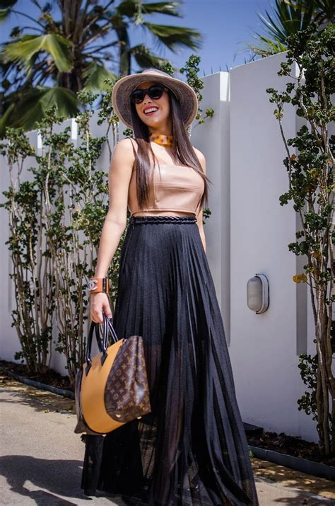 The Pecking Order - H&M Pleated Skirt, Necessary Clothing