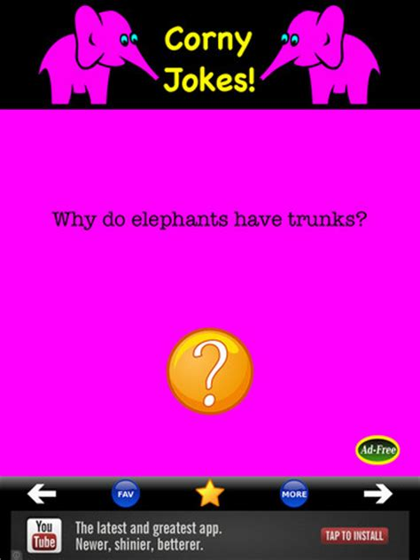 Best Corny Jokes! app review: you'll never run out of bad
