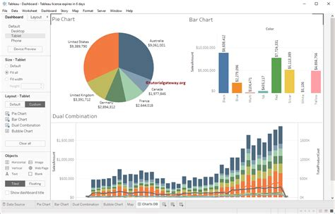 Create Tableau Dashboard Device Preview