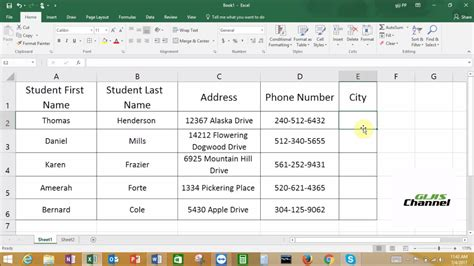 How to make drop down list in Excel 2016 in a very easy