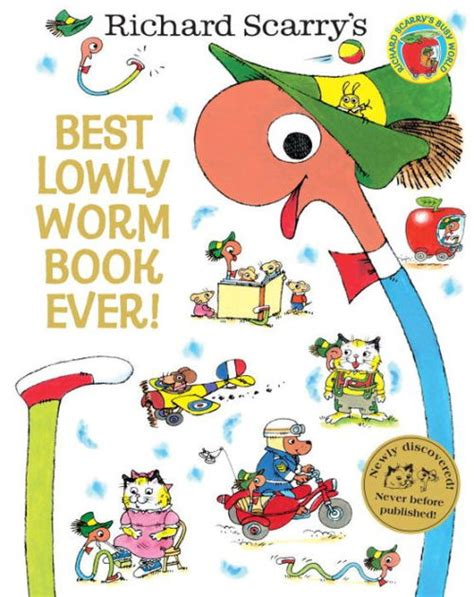 Best Lowly Worm Book Ever! (Richard Scarry) by Richard